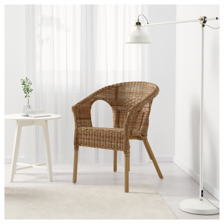 Кресло АГЕН ротанг, бамбук фото 4