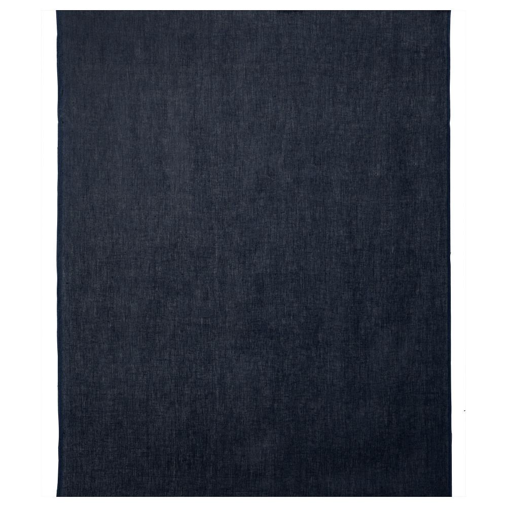 Ткань АЙНА темно-синий  фото 1