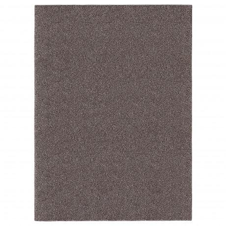 Ковер, длинный ворс АЛЛЕРСЛЕВ коричневый фото 4