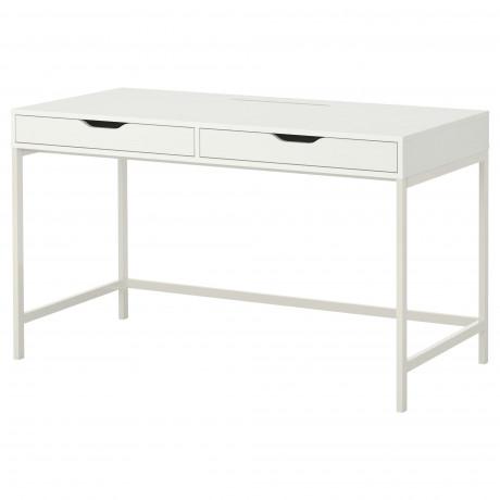Письменный стол АЛЕКС белый фото 0